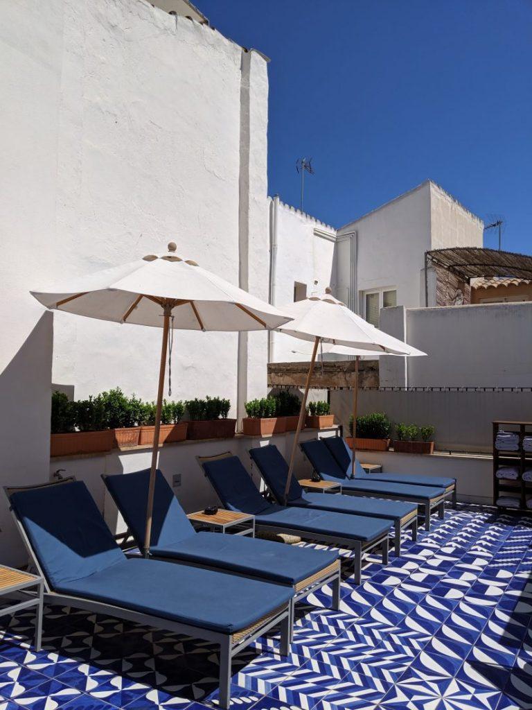 Review Hotel Cort Palma de Mallorca rooftop
