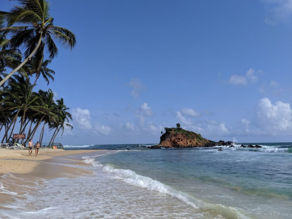 Sri Lanka itinerary - Sri Lanka travel blog Mirissa beach