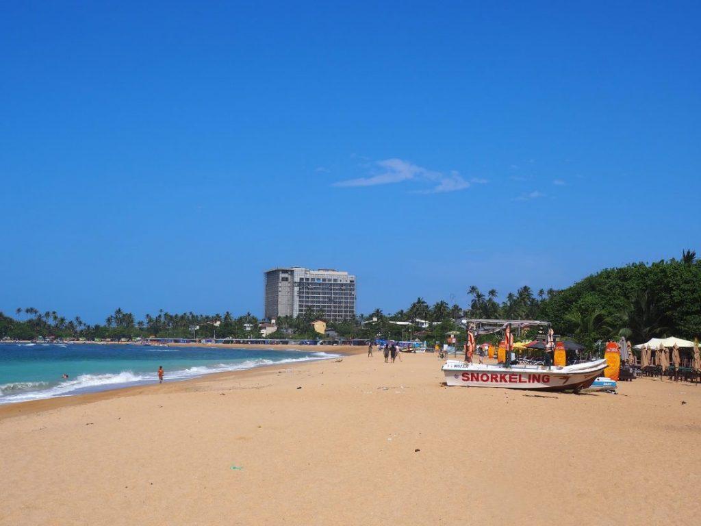 Sri Lanka itinerary - Sri Lanka travel blog Unawatuna beach