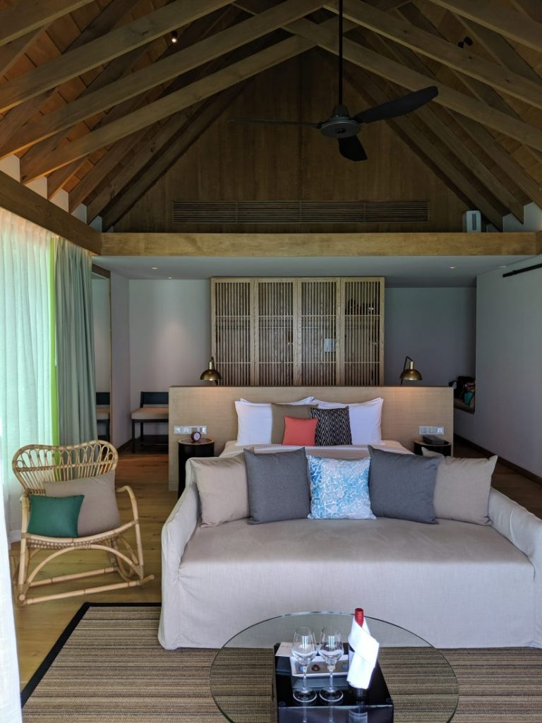 bedroom ocean retreat with pool Faarufushi Maldives resort in Raa Atoll