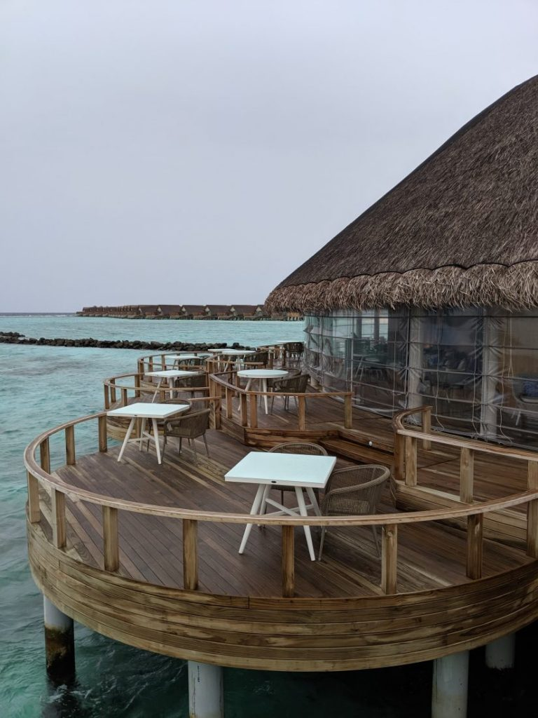 eclipse 2 restaurant Faarufushi Maldives resort in Raa Atoll