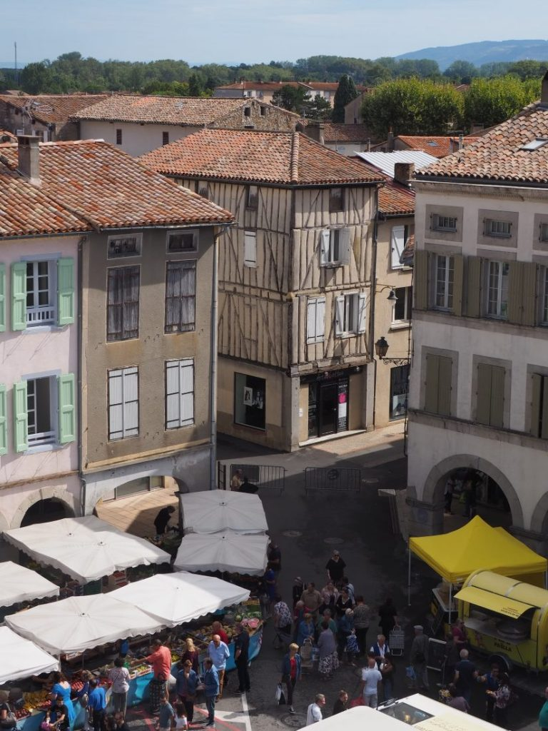 most beautiful market France Nevel