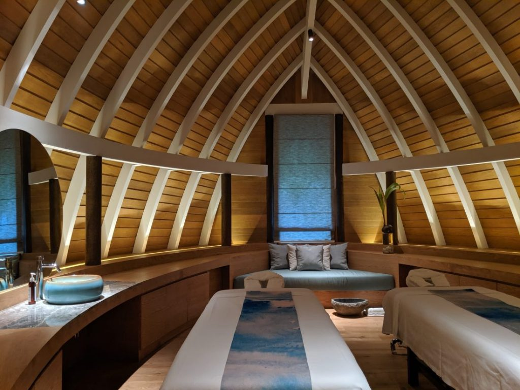 nika spa Faarufushi Maldives resort in Raa Atoll