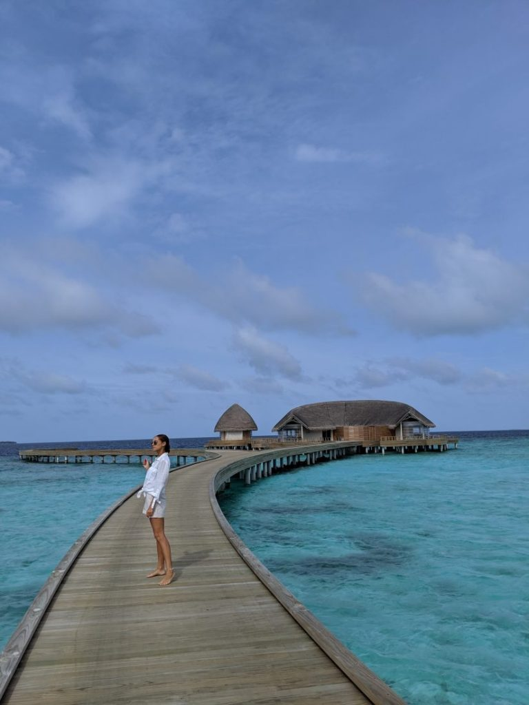 travel blogger Faarufushi Maldives resort in Raa Atoll