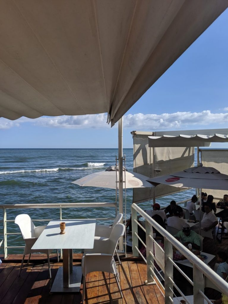 Adrian Tropical restaurant Malecon Santo Domingo 1