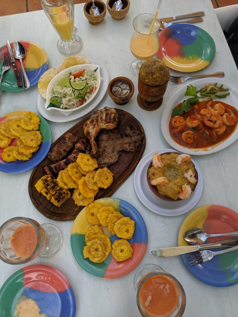 Adrian Tropical restaurant Malecon Santo Domingo