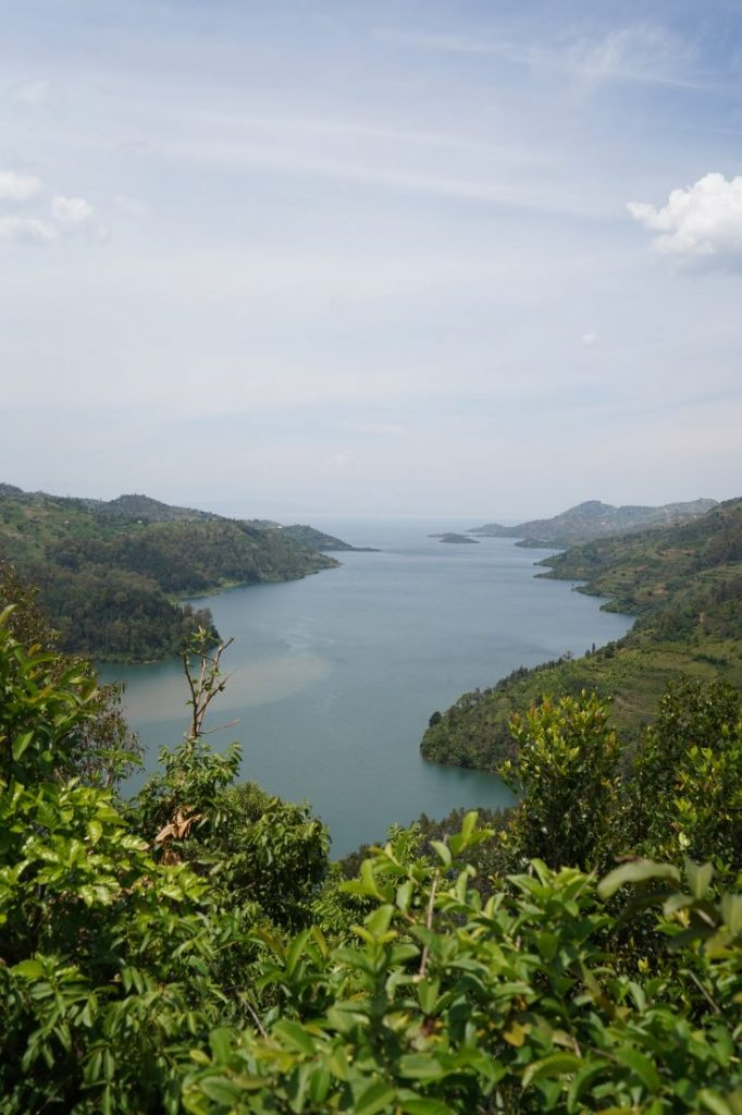 Beautiful lake Kivu