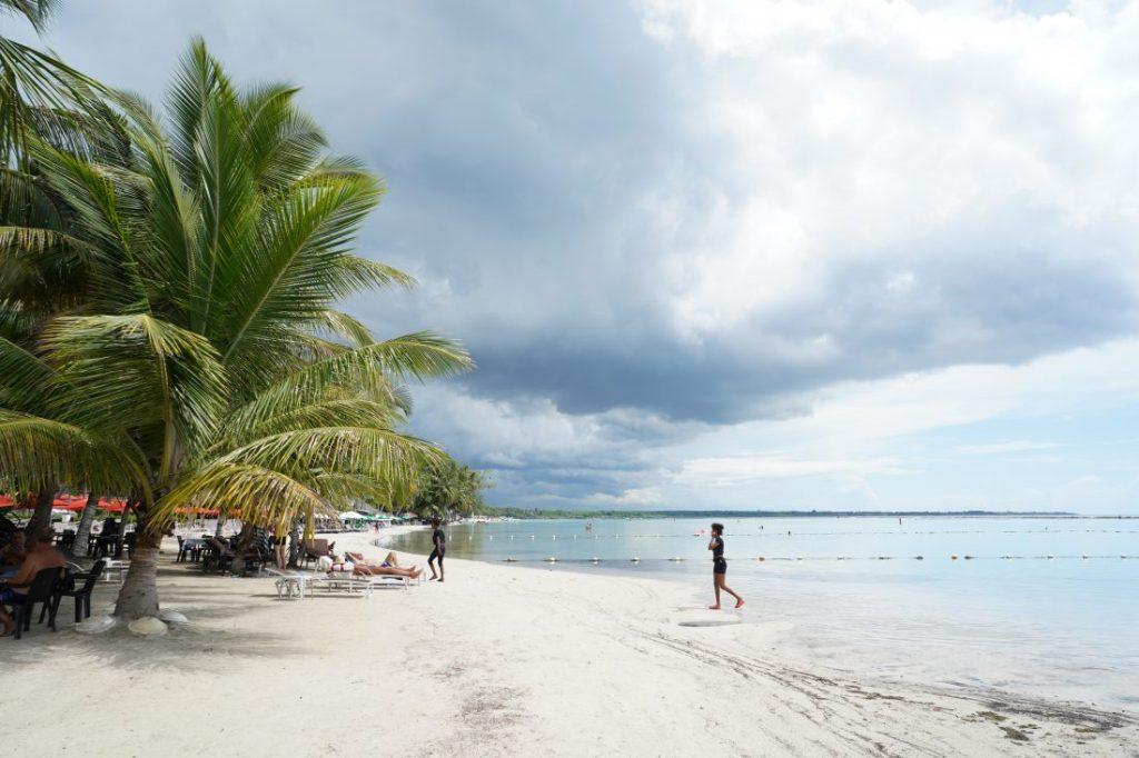 beach Santo Domingo Boca Chica