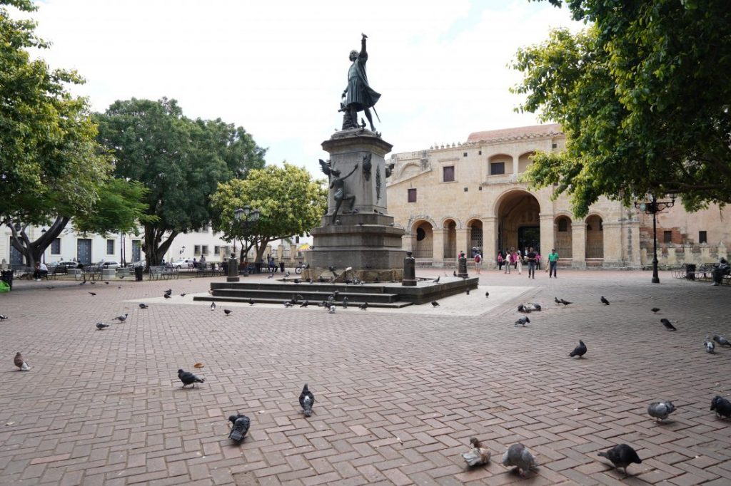 main square Santo Domingo Dominican Republic