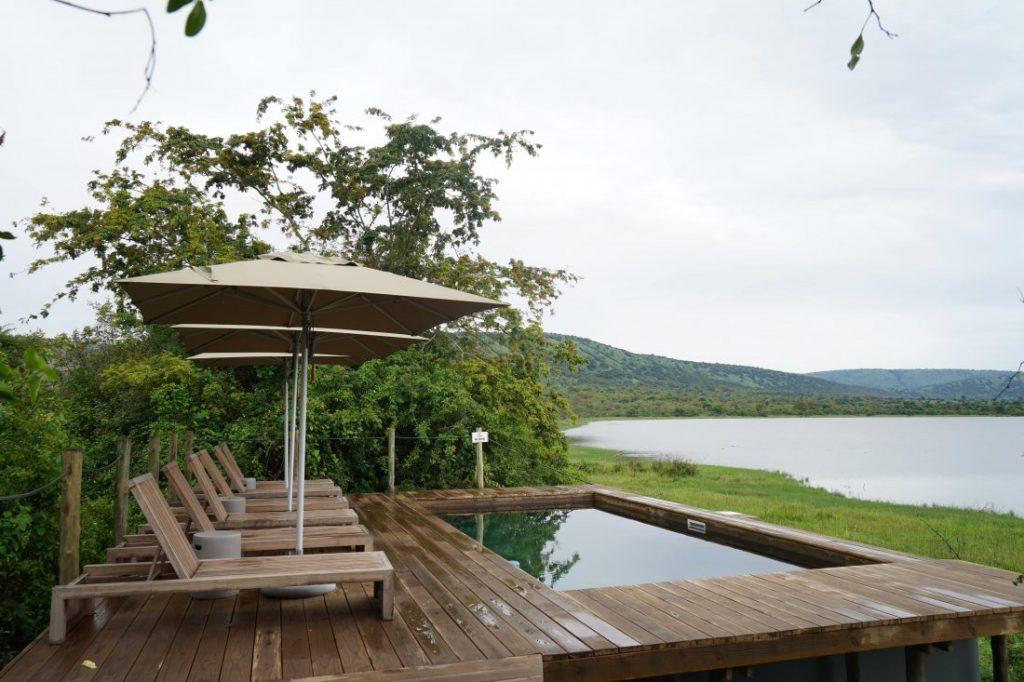 pool Review Magashi Camp akagera Rwanda