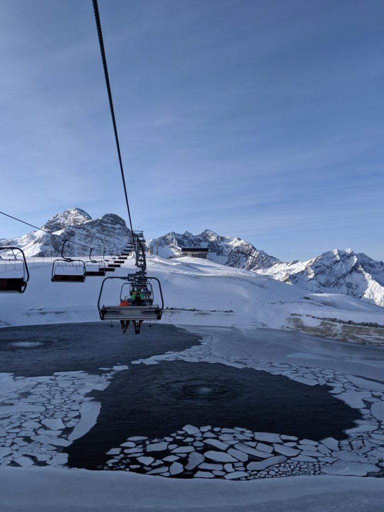 Skiing in Warth Ski resort review Arlberg largest ski area autria 3