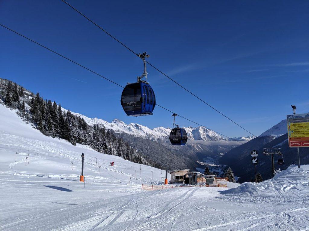 St anton Ski resort review arlberg largest ski area autria 1