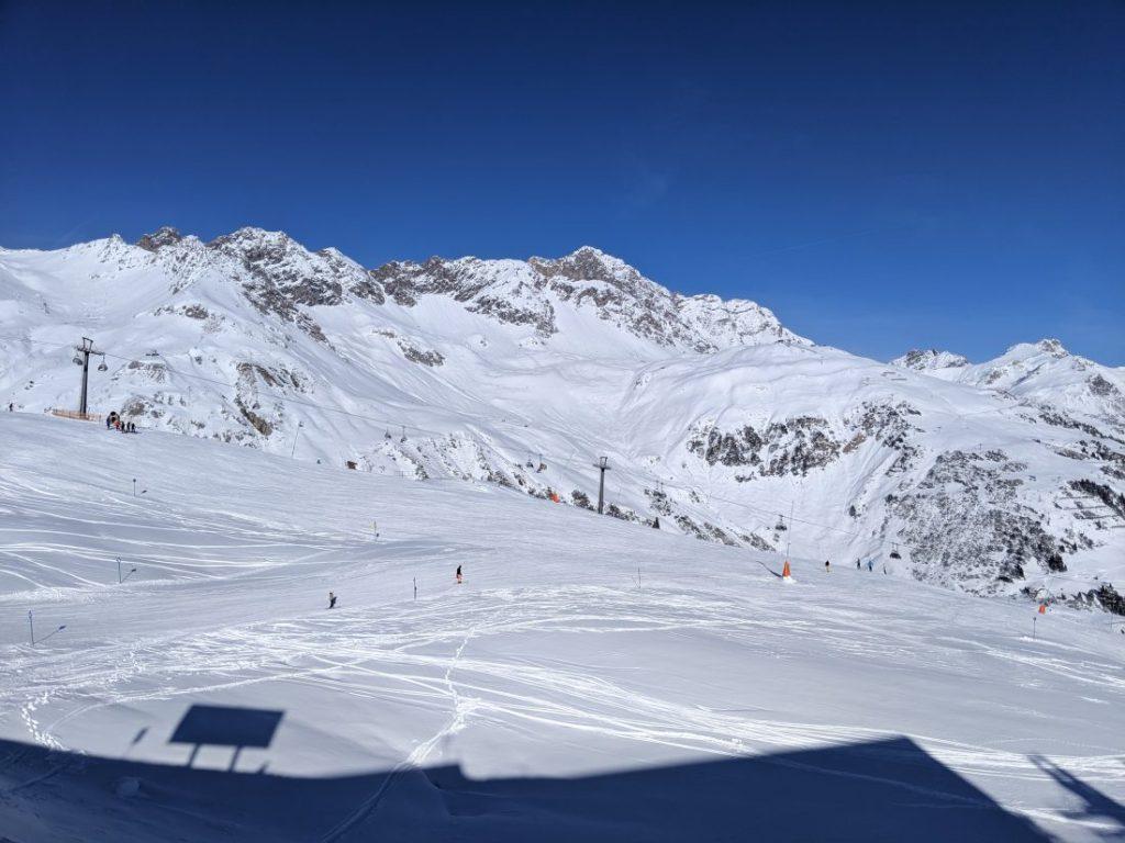 St anton Ski resort review arlberg largest ski area autria 2