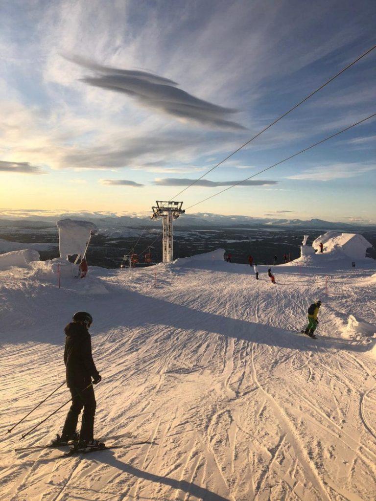 Winter activities in Jamtland Ski in Are