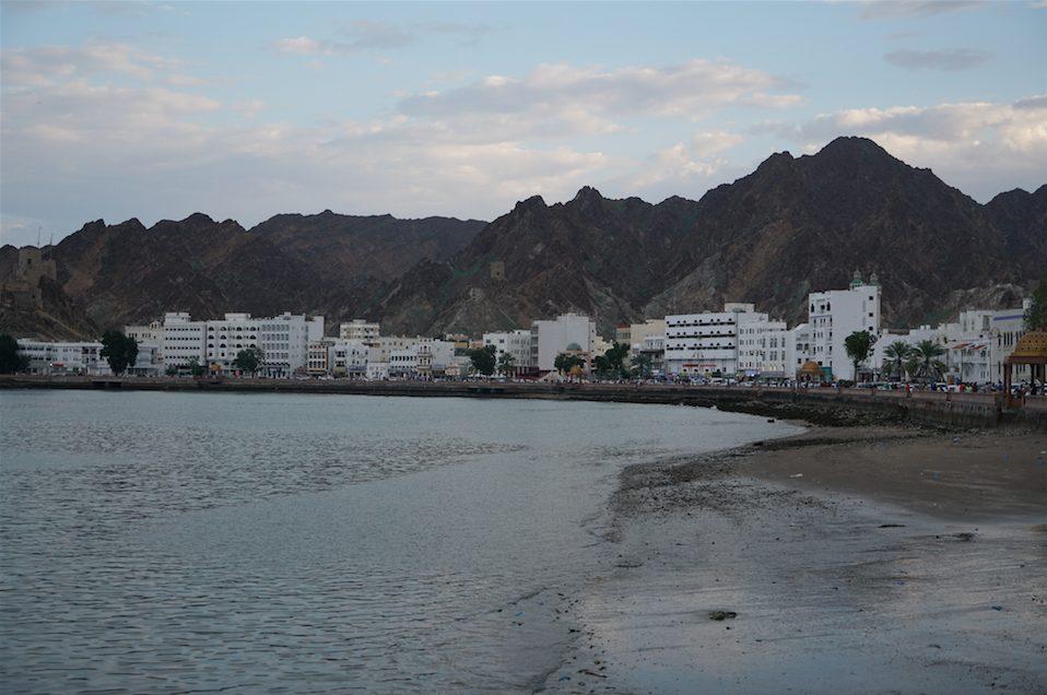 10 days Oman road trip itinerary Muscat corniche