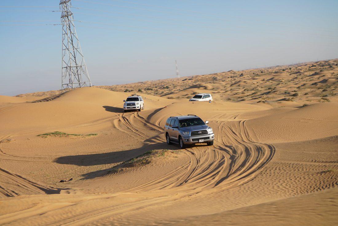 Dune Bashing Ras Al Khaima