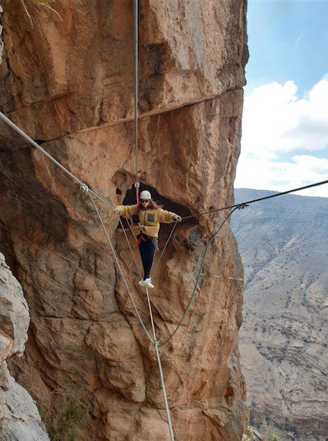 Via Ferrata Experience Alila Jabal Akhdar 1