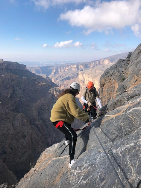 Experience at Alila Jabal Akhdar – Via Ferrata and hotel review