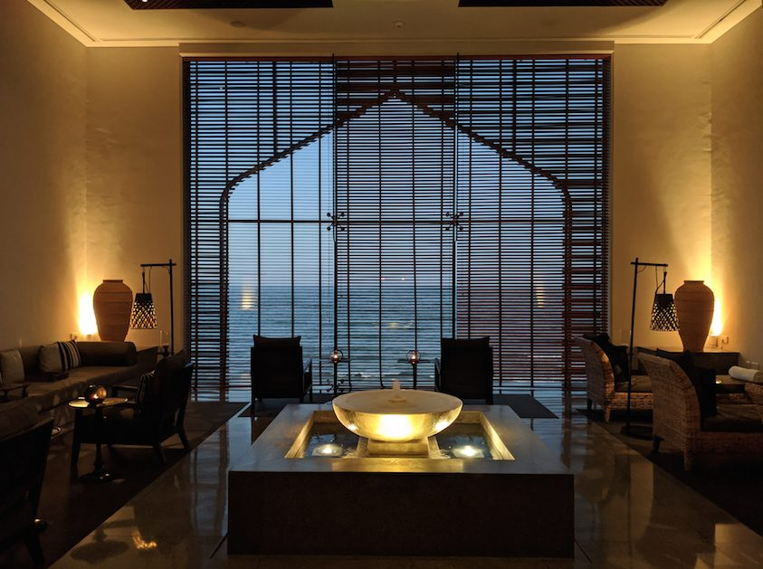 Where to sleep in Muscat - Chedi Muscat Spa