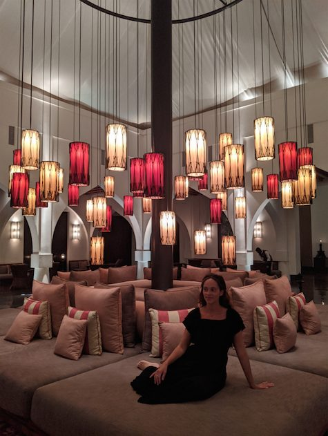 Where to sleep in Muscat - Chedi Muscat entrance