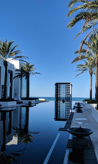 Where to sleep in Muscat - Chedi Muscat long pool