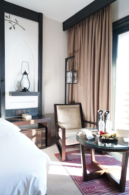 experience Alila Jabal Akhdar hotel review room