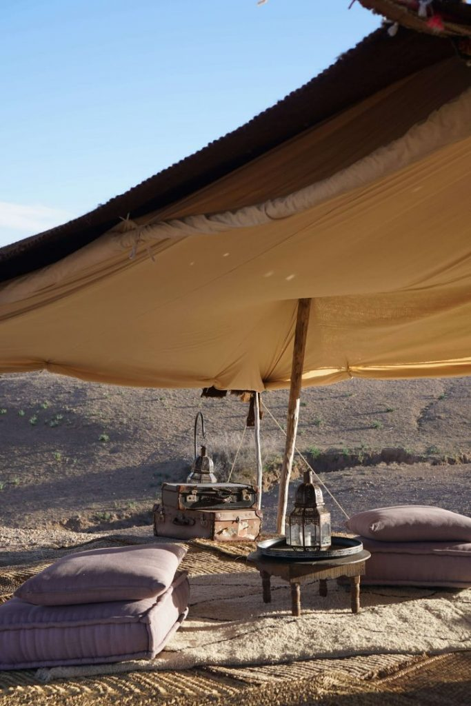 Glamping in Agafay desert at Scarabeo camp – Marrakech 2