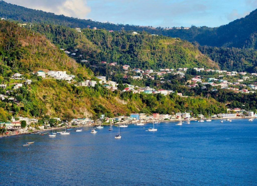 Most beautiful places Caribbean Dominica