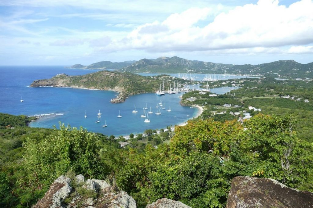 Most beautiful places in the Caribbean Antigua-min