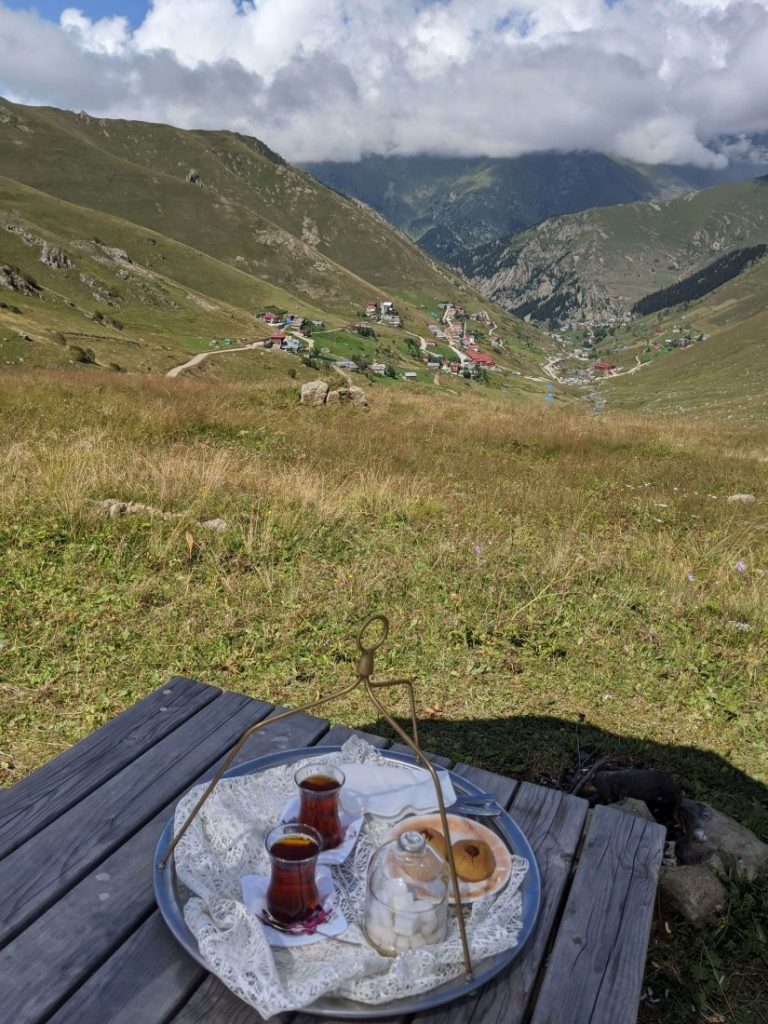 tea in Trabzon highlands