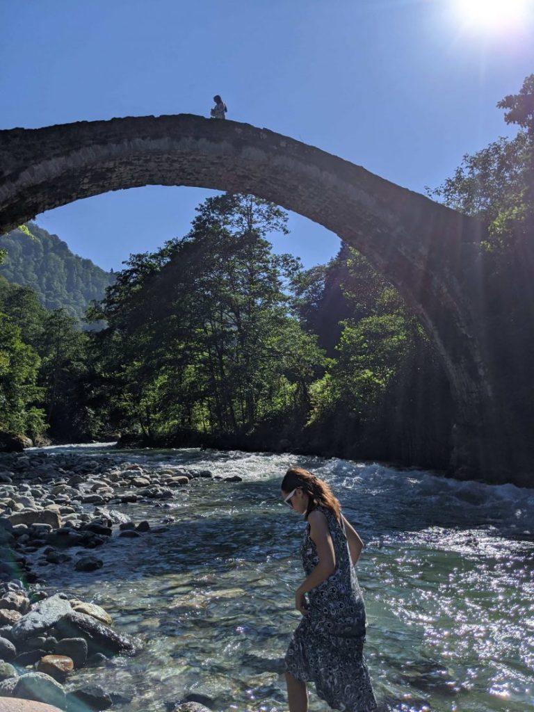 Typical stone bridges Trabzon