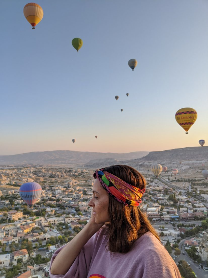 Visit Cappadocia - Hot air ballon ride