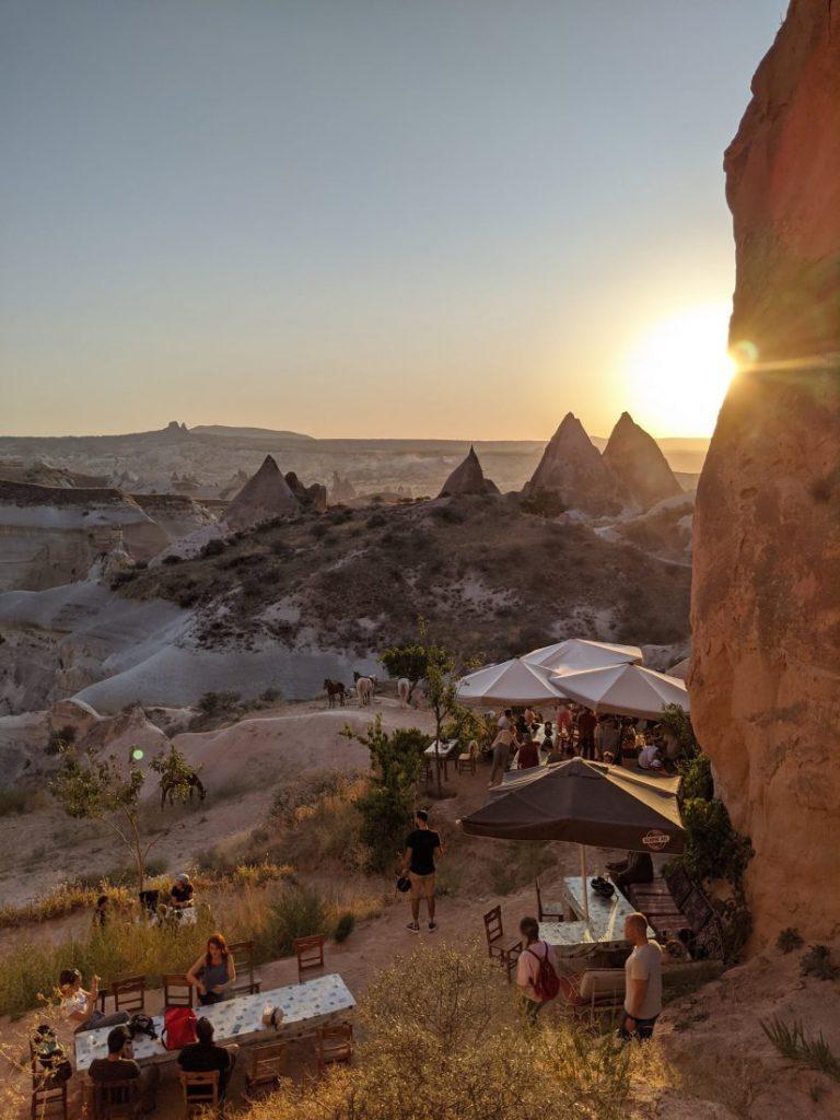 Visit Cappadocia sunset Pink valley