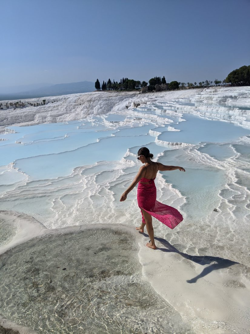 Visit Pamukkale thermal pools Turkey 1