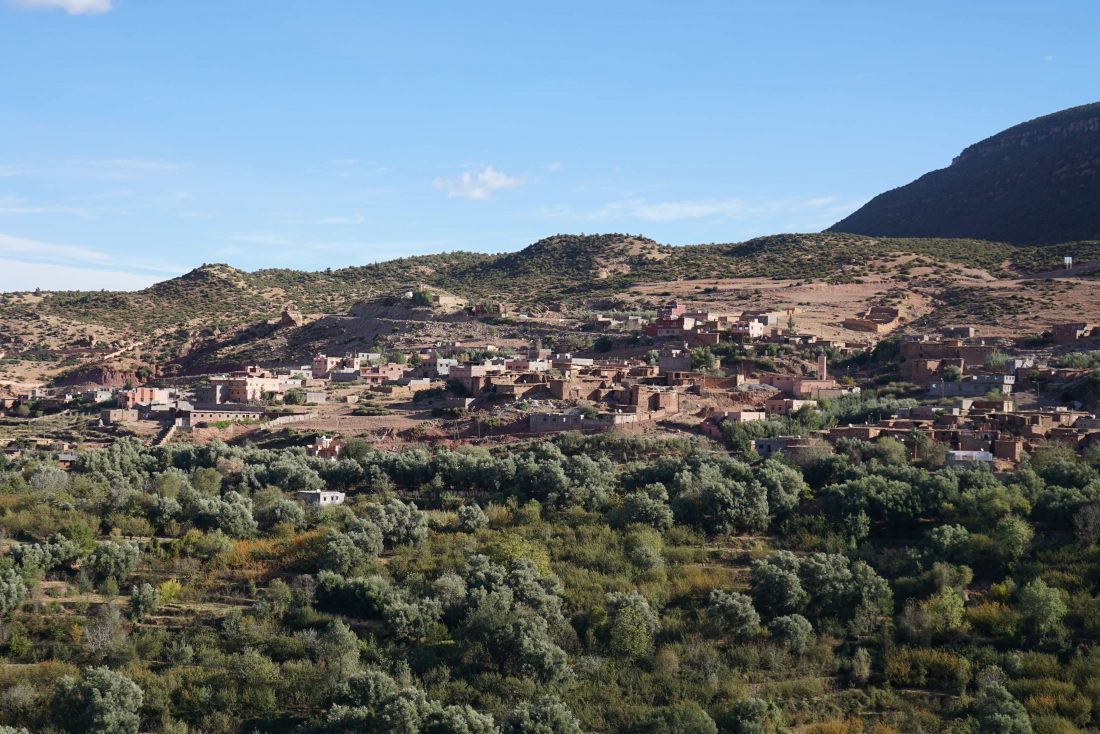 Atlas mountains village