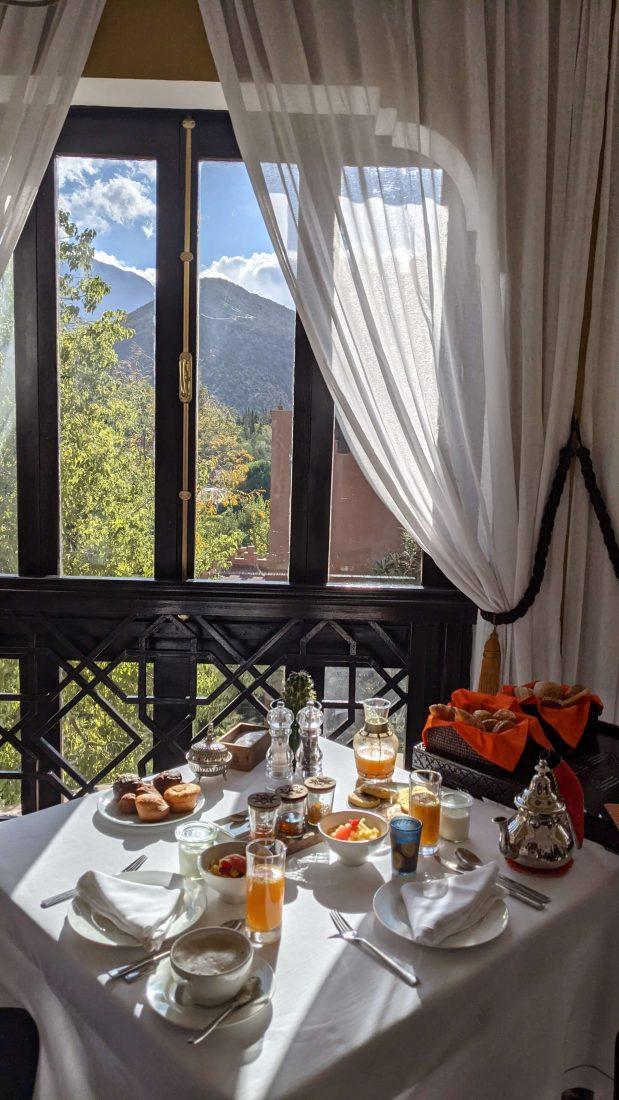 Breakfast Kasbah Tamadot