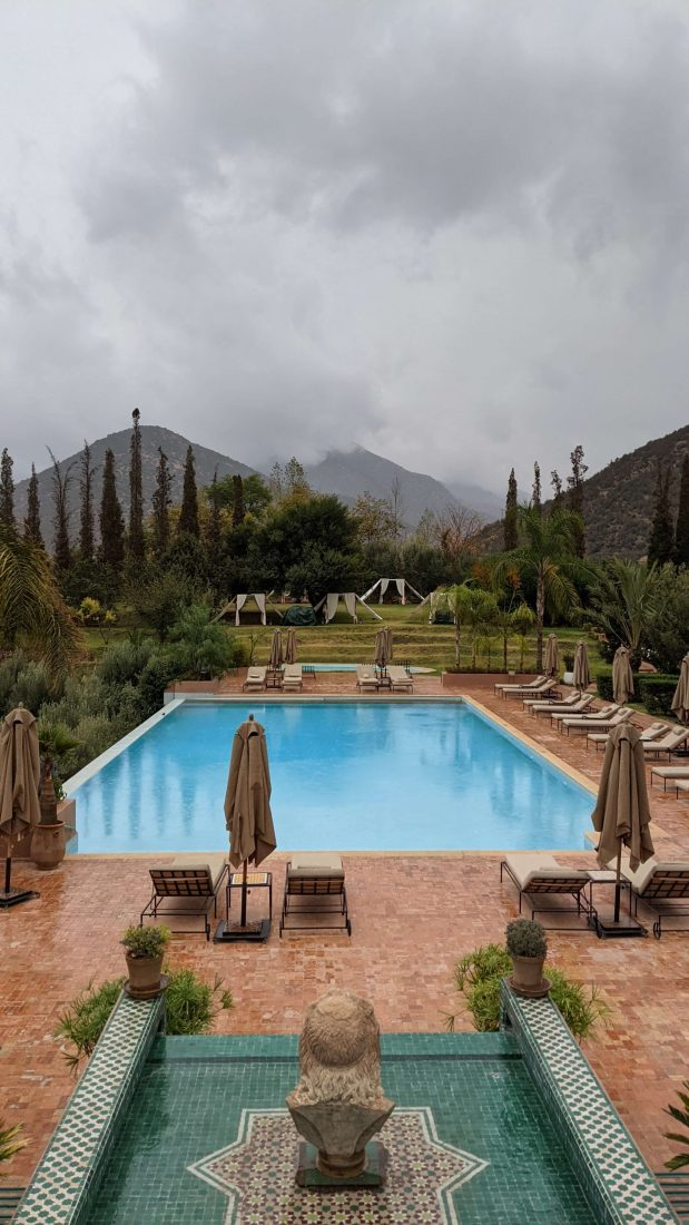 2 days at Kasbah Tamadot, a luxury resort in the Atlas Mountains