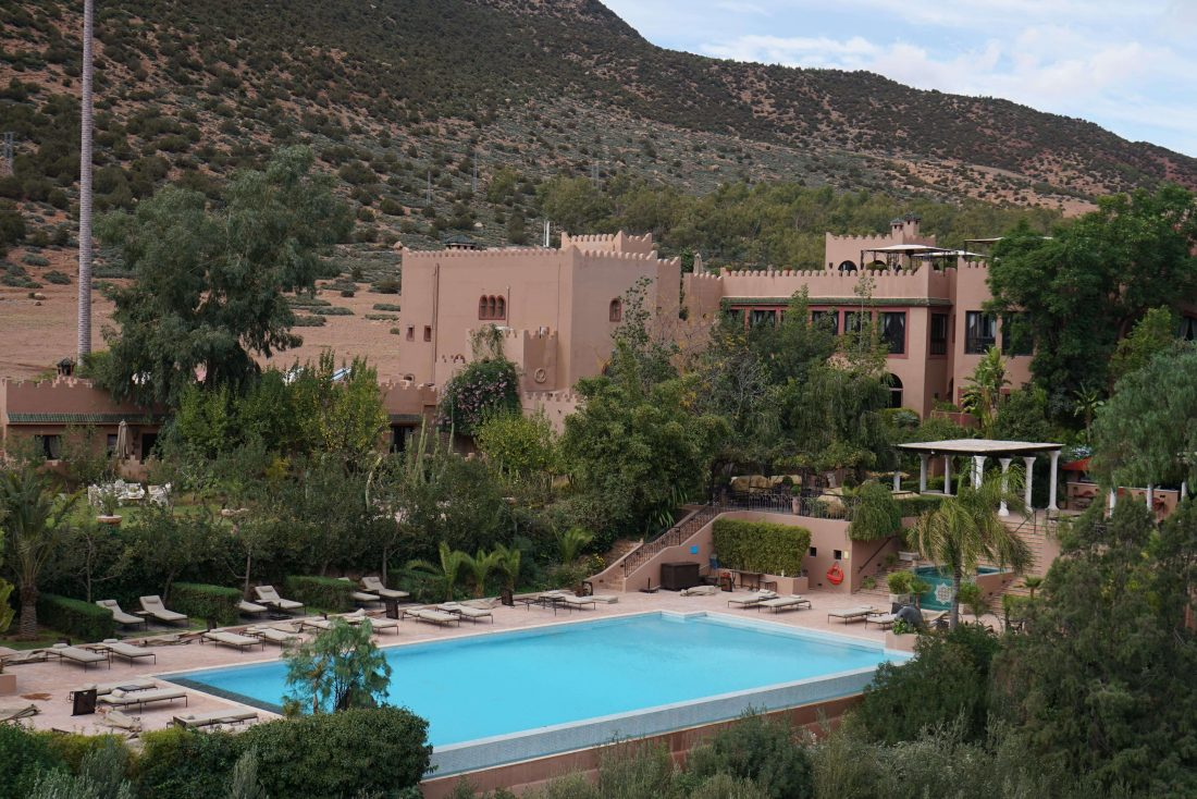 Review Kasbah Tamadot Virgin resort Morocco 1
