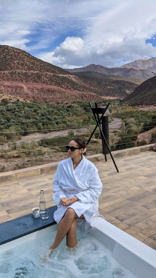 travel blogger Morocco Review Kasbah Tamadot Virgin resort Morocco